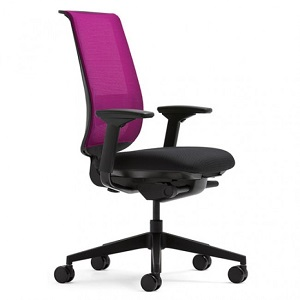 Steelcase Reply Chair Mesh With Black Seat 247ergo Com