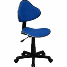 Flash Furniture Blue Fabric Ergonomic Task Chair