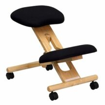 Flash Furniture Wooden Ergonomic Kneeling Posture Office Chair