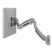 Symmetry Wall Mount Dynamic Height Adjustable Single Monitor Arm