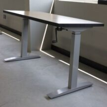 Symmetry Clarity Two Leg Crank Base Sit to Stand