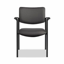 Allseating Twist Side Upholstered Back Chair