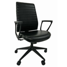 Eurotech Frasso Mid Back Leather Chair