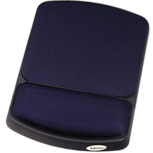 Fellowes Gel Wrist Rest and Mouse Rest - Sapphire Black