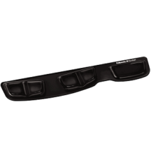 Fellowes Keyboard Palm Support with Microban Protection - Black