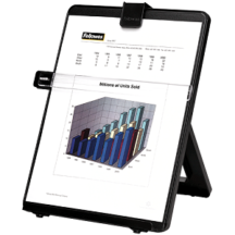 Fellowes Non-Magnetic Copyholder - Letter Black