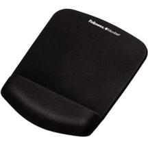 Fellowes PlushTouch Mouse Pad Wrist Rest - Black