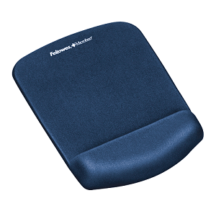 Fellowes PlushTouch Mouse Pad Wrist Rest - Blue