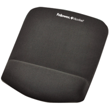 Fellowes PlushTouch Mouse Pad Wrist Rest - Graphite