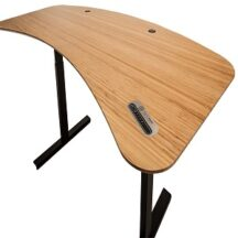 Healthy Desk Bamboo Contour Standing Desk