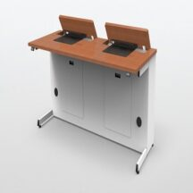 ISE Dual User Electric Laptop Desk