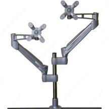 Richelieu Ergonomics Flota Series Dual Monitor Gas Spring Arm LCD Flat Panel Desk Mount