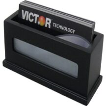 Victor Tech 11565 Midnight Black Business Card Holder