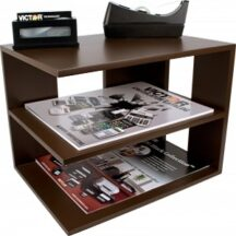 Victor Tech B1120 Mocha Corner Shelf
