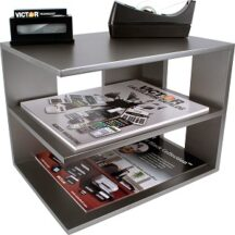 Victor Tech S1120 Classic Silver Corner Shelf