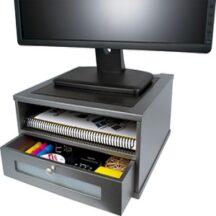 Victor Tech S1175 Classic Silver Monitor Riser