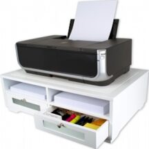 Victor Tech W1130 Pure White Printer Stand