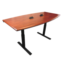 iMovr Synapse Adjustable Height Conference Table 36 Inch x 83 Inch