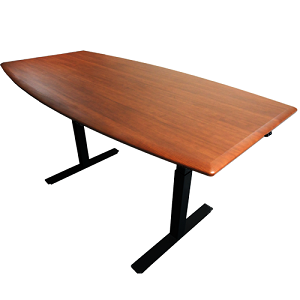 IMovr Synapse Adjustable Height Scrum Table Inch X Inch - 36 x 96 conference table