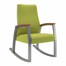 Allseating Foster Upholstered Patient Rocker