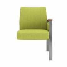 Allseating Foster Upholstered Tandem Add-On Unit
