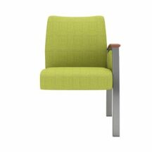 Allseating Foster Upholstered Tandem Guest End Unit