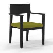 Mayline VSC11AF Mercado Wood Upholstered