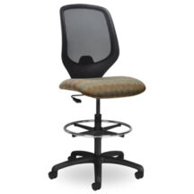 Seating Inc EDU2 Mesh Stools Casters and 4 Leg