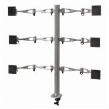 Cotytech 6 Monitor Stand 2x3 w Full Swing Arms