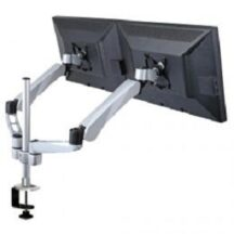 Cotytech Dual Monitor Stand w Spring Arm and Quick Connect