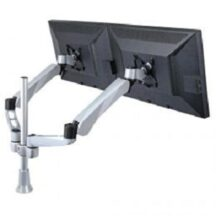 Cotytech Dual Monitor Stand w  Spring Arm and Quick Release