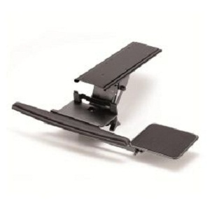 Cotytech Keyboard Tray Fully Adjustable W Clamp And Lever