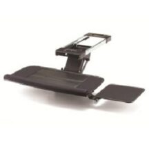 Cotytech Keyboard Tray Fully Adjustable w Platform, B-Bearing Lever