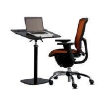 Cotytech Laptop Desk Fully Adjustable & Ergonomic in Black