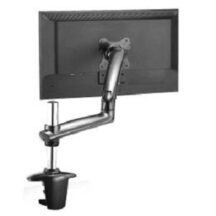 Cotytech Monitor Stand Expandable w Spring Arm Dark Gray