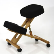 Jobri BetterPosture Classic Kneeling Chair Black BP1450BK