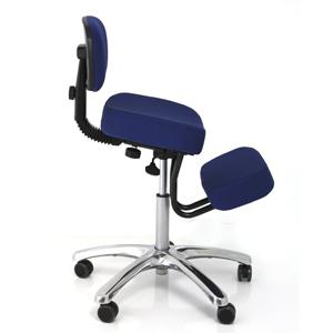 jobri betterposture jazzy kneeling chair blue bp1446bl