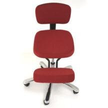 Jobri BetterPosture Knee Jazzy Kneeling Chair Red BP1446RD