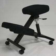 Jobri BetterPosture Standard Kneeling Chair w Gas Lift Black BP1440