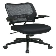 Office Star 13-37N1P3 Deluxe Dark AirGrid Back Chair