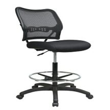Office Star 13-37N20D Deluxe Dark AirGrid Back Drafting Chair