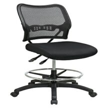 Office Star 13-37N30D Deluxe Dark AirGrid Back Drafting Chair