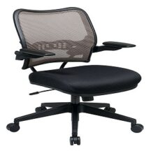 Office Star 13-38N1P3 Deluxe Latte AirGrid Back Chair