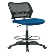 Office Star 13-7N20D Deluxe Dark AirGrid Back Drafting Chair