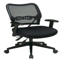 Office Star 13-7N9WA Deluxe Dark AirGrid Back Chair