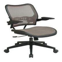 Office Star 13-88N1P3 Deluxe Latte AirGrid Seat and Back Chair