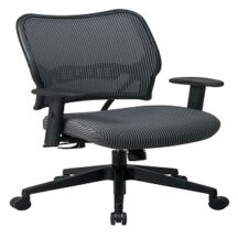 Office Star 13-V44N1WA Deluxe Charcoal VeraFlex Back Chair