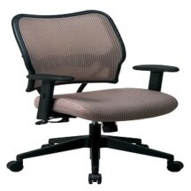 Office Star 13-V88N1WA Deluxe Latte VeraFlex Back Chair