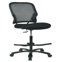Office Star 15-37A720D Big and Tall Double Dark AirGrid Back Drafting Chair