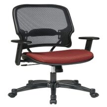 Office Star 1587C Professional Dark AirGrid Back Managers Chair